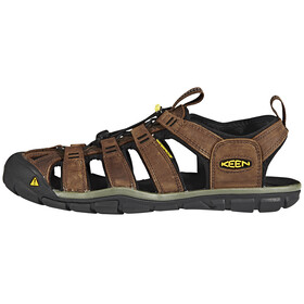 Keen Clearwater CNX Leather - Sandales Homme - marron